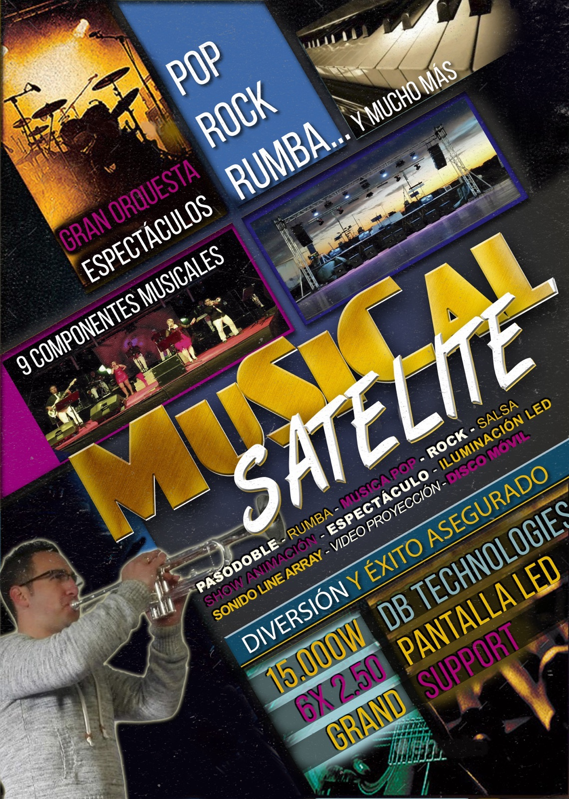 Orquestas - MUSICAL SATELITE