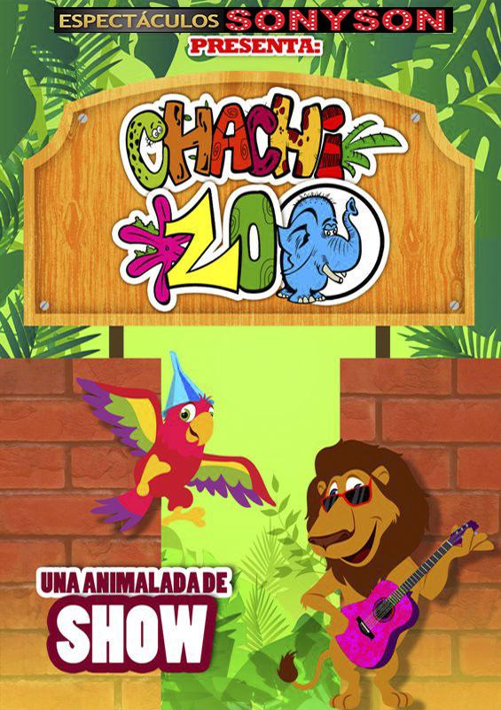 cartel TEATRO - CHACHI ZOO - sonyson
